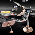 360 Rotation Car Phone Holder Stand Magnetic Metal Mobile Phone Holder Car support For iPhone Samsung