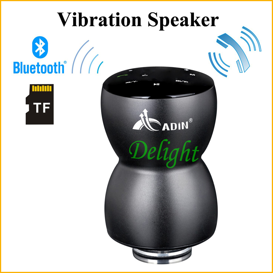 Free Shipping TF Hifi Spekaer Wireless Portable Mini Bluetooth Speaker Vibration Speaker Handfree For Phone Call (DL-044)(China (Mainland))