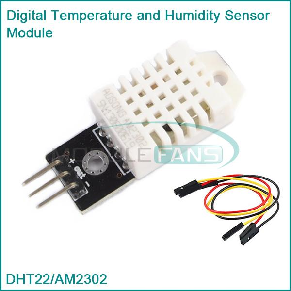 Гаджет  DHT22 AM2302 Digital Temperature And Humidity Sensor Module Replace SHT11 SHT15 None Электронные компоненты и материалы