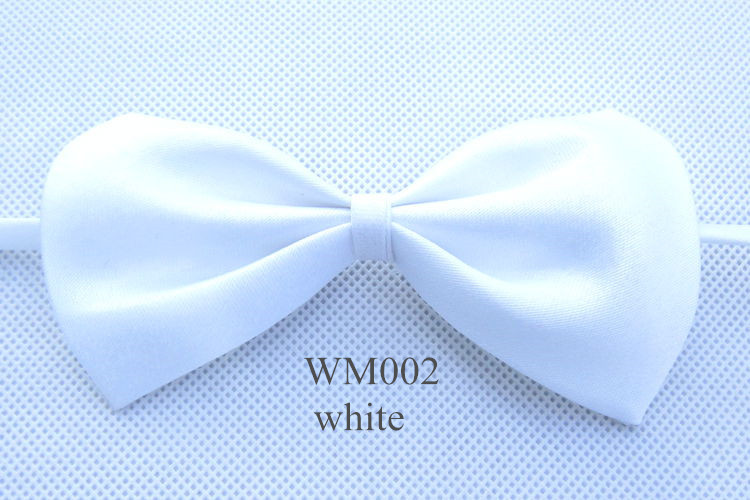 Lowest Price Solid Color Girls Boys Kids Fashion Bowtie Bow Tie For Men Women Candy Cravat