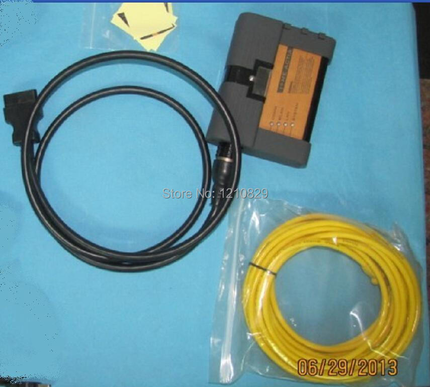 free shipping ICOMA2 A2 interface with OBD Cable and LAN cable(China (Mainland))