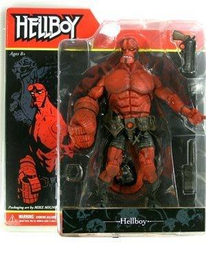 """Mezco Hellboy comic version Mike Mignola 7"""" ACTION FIGURE"""