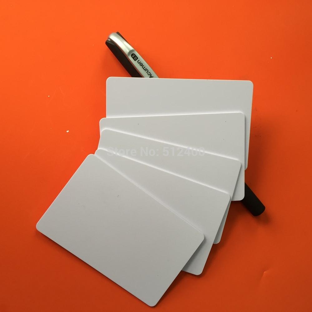 5000pcs CR80 Plain 13.56MHz RFID Proximity Card ISO 14443A Compatible With MF S50 1K(China (Mainland))