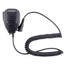Microphone For BaoFeng Kenwood Wouxun Walkie Talkie Two Way Radio Handheld Shoulder Speaker handheld radio Mic Microphone