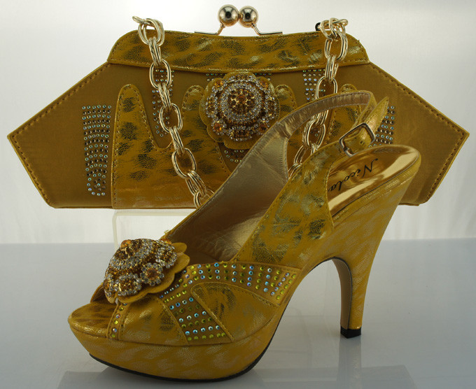 ME2205 New arrival high quality italian shoes and bags to match/matching italian shoe and bag sets for women dresses