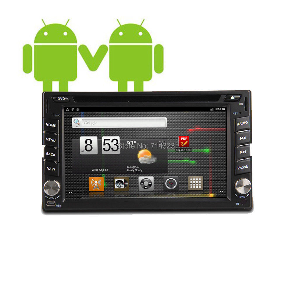 2014 New! 7 INCH Android 4.2 Car DVD player GPS Wifi 3G Bluetooth 2 DIN universal X-TRAIL Qashqai x trail juke for nissan TPMS(China (Mainland))