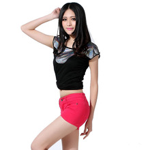 2015 New Fashion  Women Summer Shorts Candy Colors Casual Jeans Shorts Easy-matching 14 Colors Short Denim  TB288