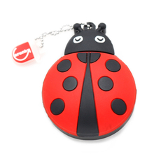 USB Flash Drive 8GB Cute ladybug USB Pen Drive 16GB Pendrive 32GB USB Memoria stick 4GB Flash Memory Stick Drive free shipping(China (Mainland))