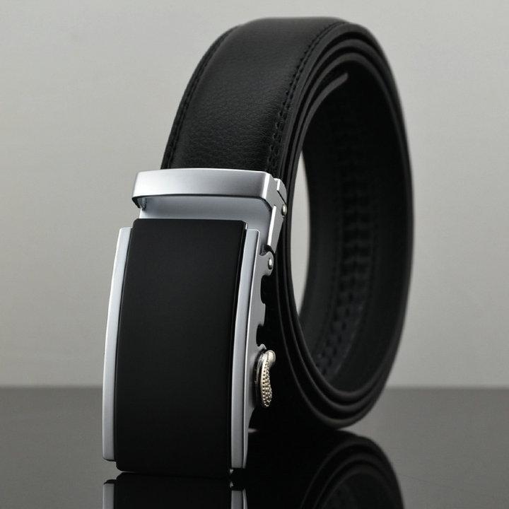 Belt 2015 New Designer Automatic Buckle Cowhide Leather belt men 100cm-130cm Luxury belts for men(China (Mainland))