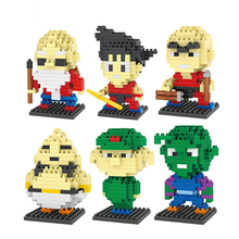 Dragon Ball Z Toy Building Block Action Figures Son Goku Piccolo Vegeta Frieza Anime Toy Oolong Master Roshi Karrin