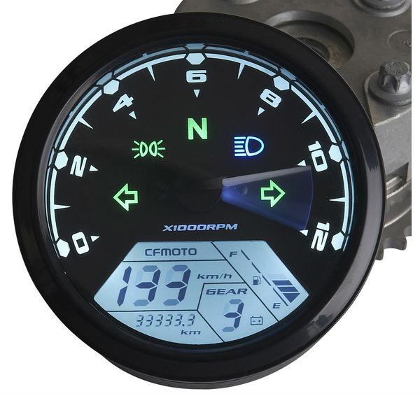 Universal Adjustable LCD Backlight Digital Speedometer Odometer Dashboard Scooter, ATV, Street bike - Racing Motorcycle Equipmen Store store