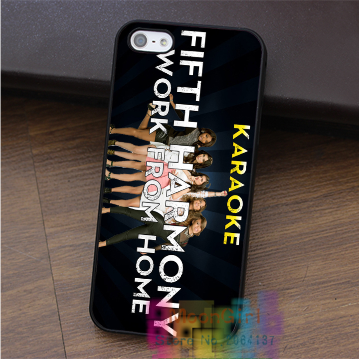 fifth harmony work from home case for iphone 4 4s 5 5s 5c SE 6 6s & 6 plus & 6s plus #PO0454(China (Mainland))