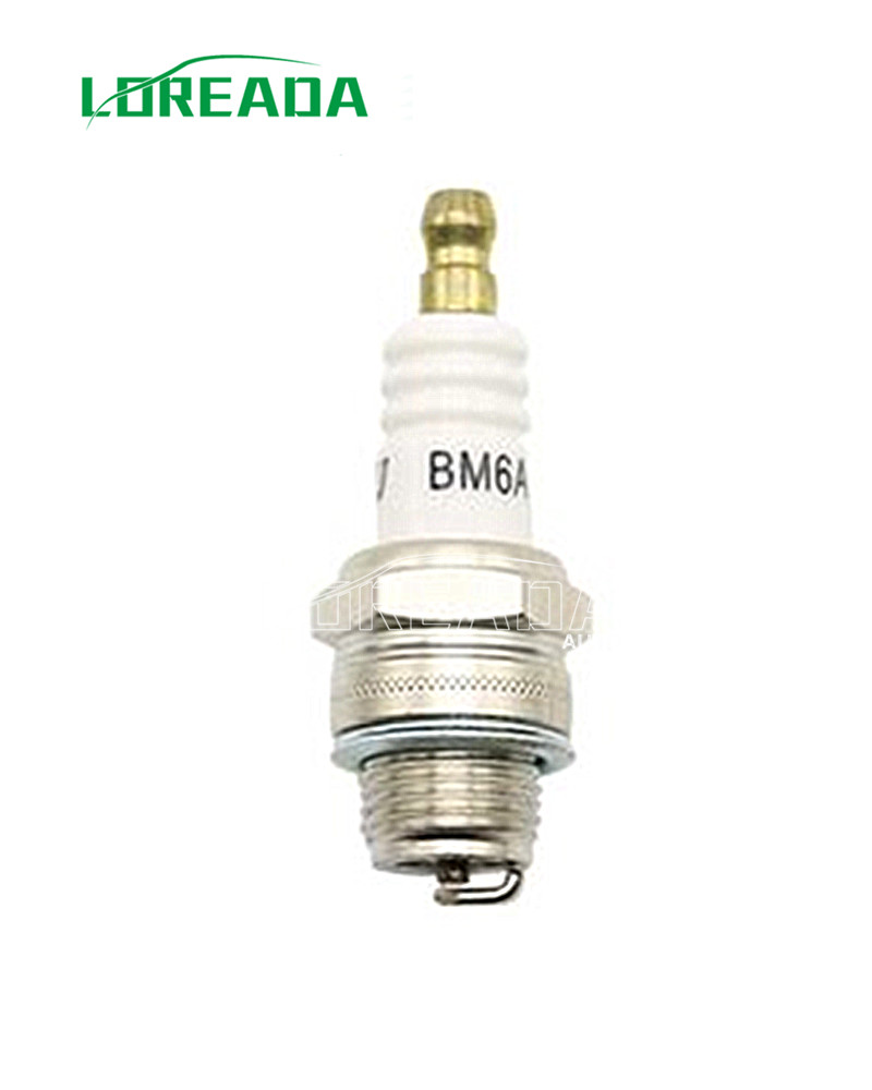 Small Petrol Engine spark plug BM6A /BM6RA/L7T/U4BC/CJ8 for Lawn Mower match for Bosch WS7F CHRYSLER POWER BEE, CLINTON, DUCAR(China (Mainland))