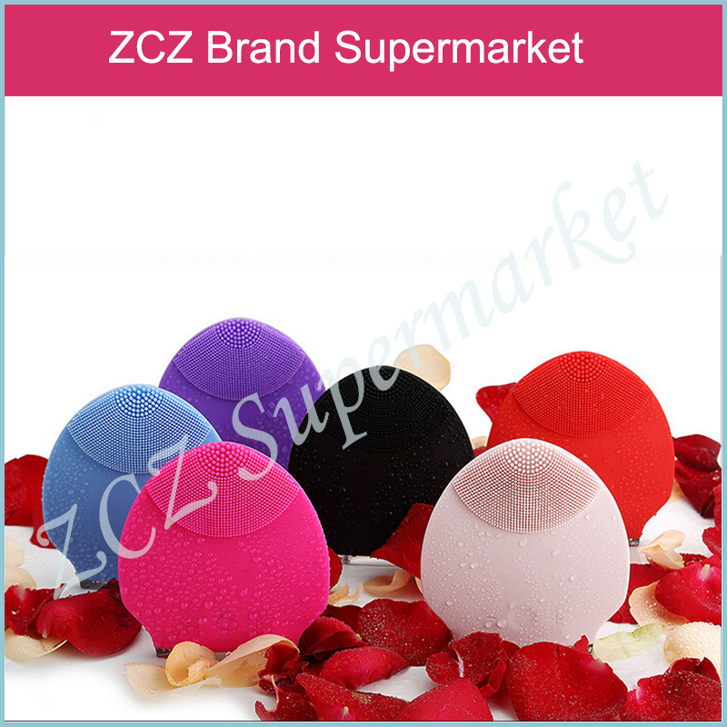 ZCZ Mini Ultrasonic Facial Cleaner Beauty Instrument Super Silicone Personal Rechargeable Face Care Cleansers ZX152(China (Mainland))
