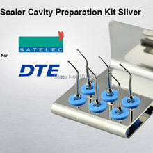 2 SETS SCKS Scaler Cavity Preparation Tips Kit SATELC DTE GNATUS NSK HU-FRIEDY FOR KIDS DENTISTRY BY DENTAL PRODUCTS CHINA