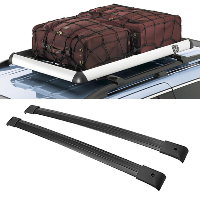 Rambowill 2Pcs/Set Black Aircraft Aluminum Car Roof Rack Cross Bars For Honda Odyssey 2005-2010(China (Mainland))