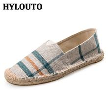 New Brand Women's Navy Umbrella Stripe Classics Shoes Striped Canvas Flat Shoes Flax Stripe Fashion Espadrilles Women Alpargata(China (Mainland))