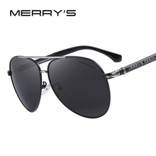 MERRY'S Design Men Classic Brand Sunglasses HD Polarized Aluminum Sun glasses Luxury Shades UV400 S'8728(China (Mainland))