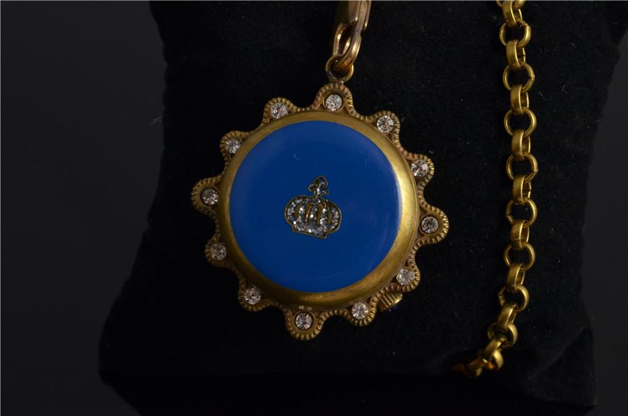 Классика Ретро Благородный Ветер Благодать Королева Корона Механические Карманные Часы Сияющий Ромбом Часы Мужские Лучший Бренд Класса Люкс Брелок Часы