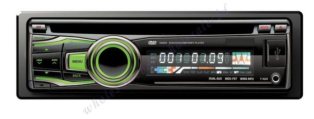 3pcs/lot Universal One Din Car DVD Player