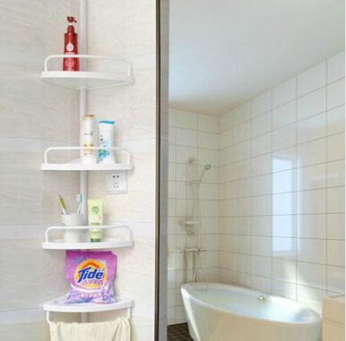 ... Standing Corner Shelves : High Quality Four Layer Bathroom Kitchen ...