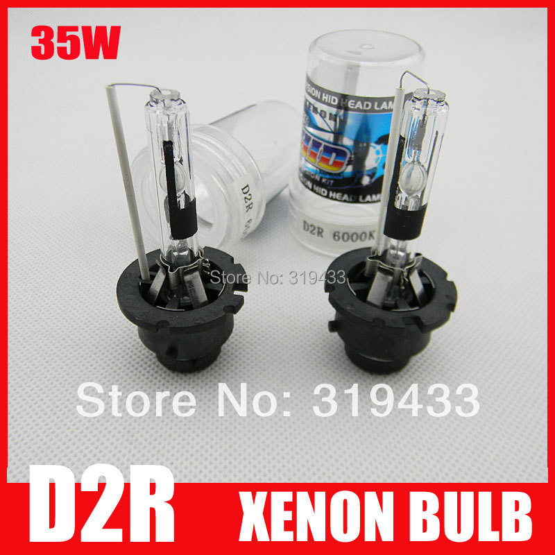 Free Shipping 35W D2R HID Xenon Bulb Globe 3000k 4300k 6000k 8000k 10000k 12000k Xenon Lamp for Headlight Replacement Spares(China (Mainland))
