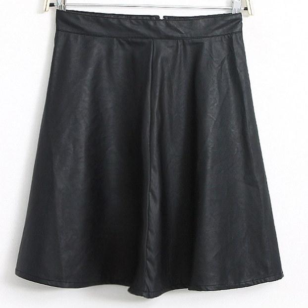 free shipping cheap fashion black skirt