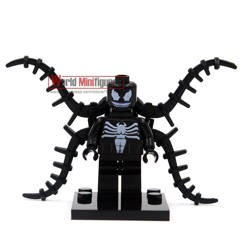 Venom Coloring Pages Lego Venom Spider Marvel Heroes: Spiderman Venom Toys