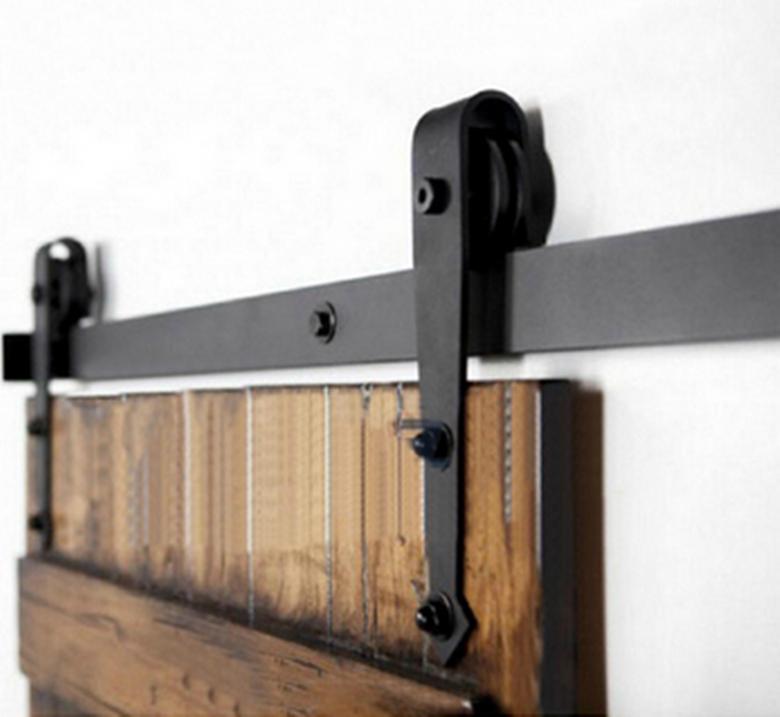 28 sliding barn door rollers set of 4 sliding barn for Sliding barn door track and rollers