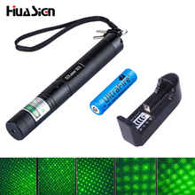 High quality Green Laser 10000mw High power laser 303 Lazer Laser Pointer presenter with safe key+battery+charger(China (Mainland))