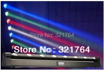 New arrival 8 pcs *10w LED Moving Head Beam Light