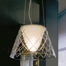modern simple European style bar restaurant pendant light  lamps S1 Lewis grid twill lighting(China (Mainland))