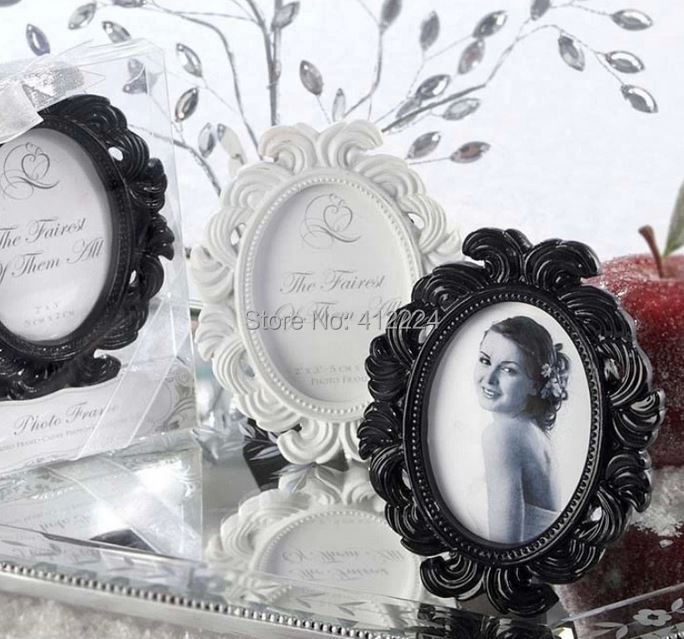 + Oval Baroque photo frame Card Photo Holder White/Black Color Option,10 - Shanghai J&A International Trading Co., Ltd Co.,Ltd store