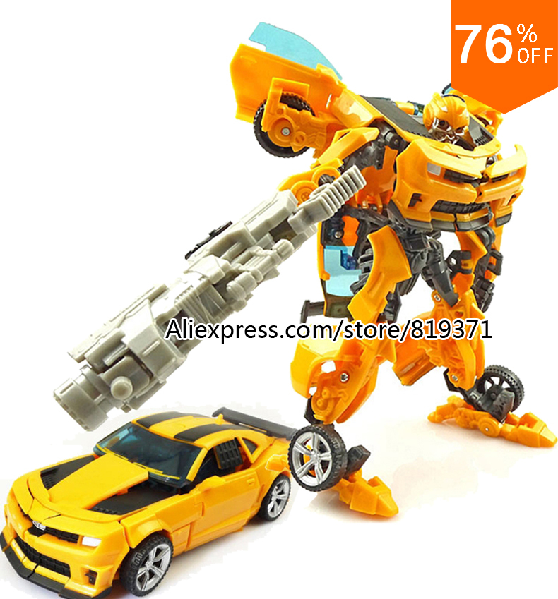 New Hot 2015 Original box Optimus Prime Bumblebee Transformation 4 Robots Action Figures Toys For kids Birthday gift Brinquedos(China (Mainland))