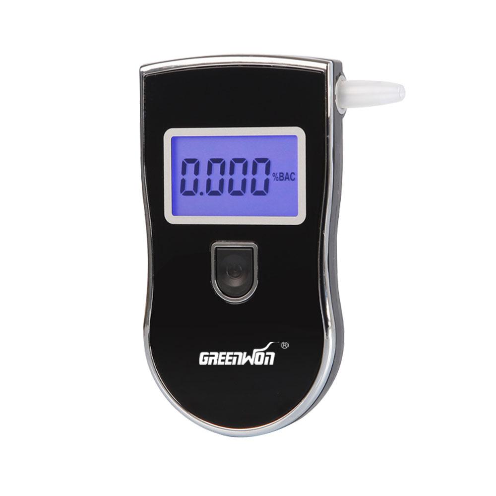 10 шт./пакет патент Prefessional полиция цифровой алкоголя в выдыхаемом воздухе алкотестер с 3 кабриолет блок алкотестер
