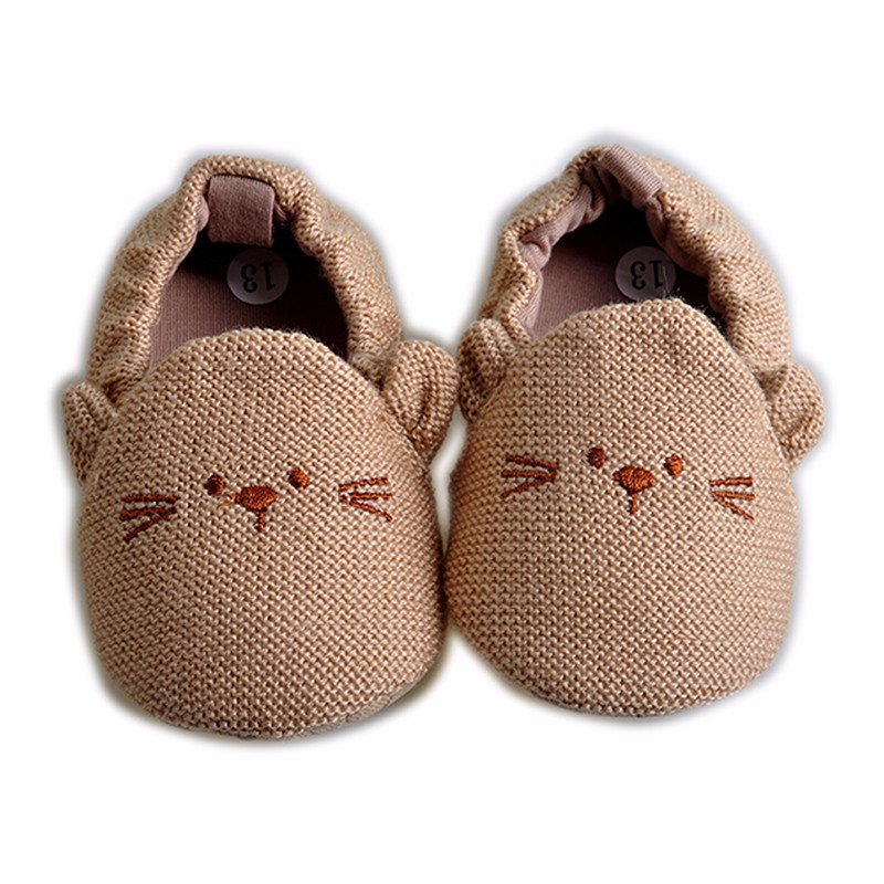 2016 Newy Style Soft Cartoon Baby Boys Girls Infant Shoes Slippers 0-6 6-12 First Walkers Cotton Skid-Proof Kids Baby Shoes (6)