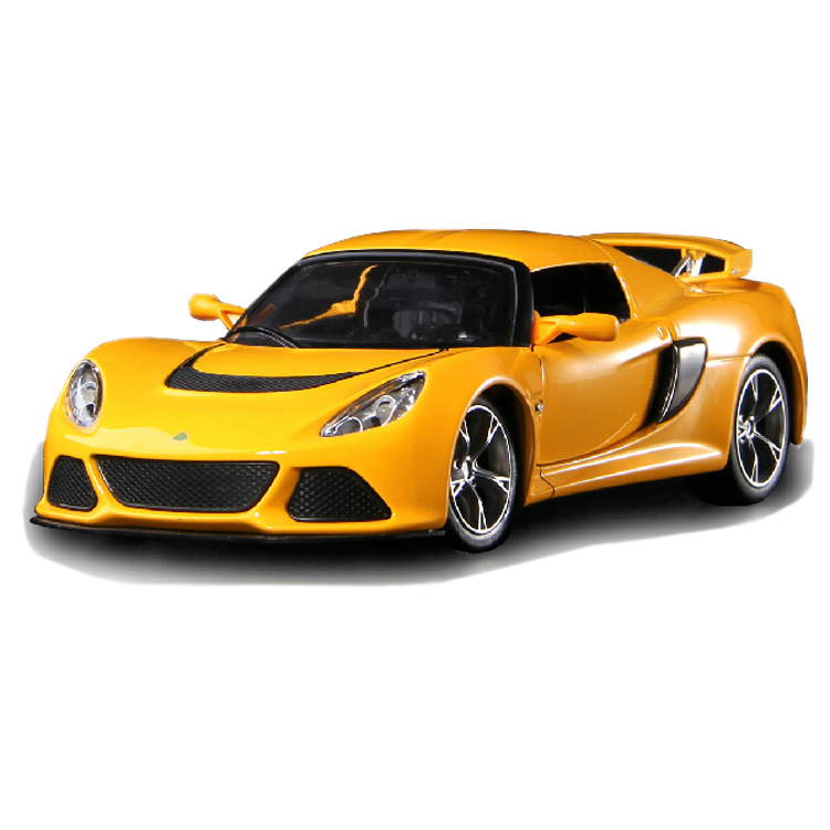 Metal Diecast Car Model for LOTUS 1/22 Scale Pull Back Sound&Light Alloy Model Collection/Gift for Kids(China (Mainland))