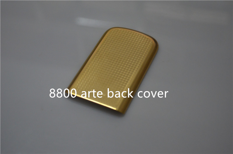 Hot sale new style For Nokia 8800 arte dark gold New original back Cover replacement Drop-down for Nokia 8800 arte housing(China (Mainland))