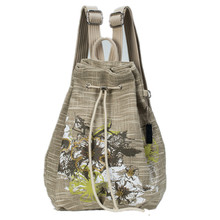 Printing flower women bag