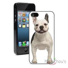 French Bulldog Smile Protector back skins mobile cellphone cases for iphone 4/4s 5/5s 5c SE 6/6s plus ipod touch 4/5/6