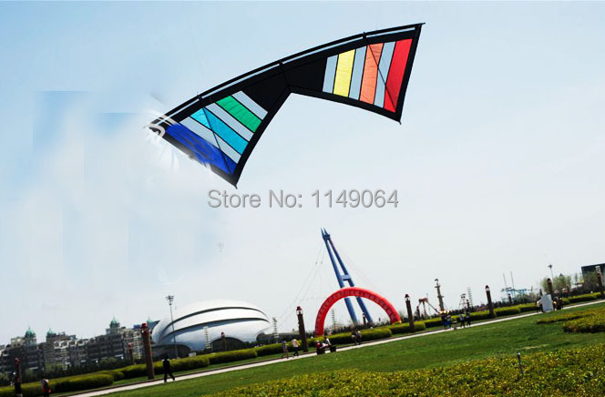 free shipping high quality 2.4m legend eyes quad line stunt kites with handle line large kites games ripstop nylon hcxkites(China (Mainland))