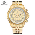 2016 Direct Selling Watch Blackcat Stainless Steel Watches Orkina Golden 30m Waterproof Men s Fashion Strap