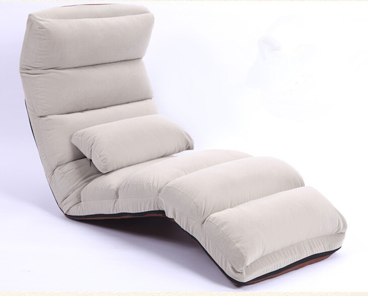 floor folding chaise lounge chair modern fashion 5 color living room