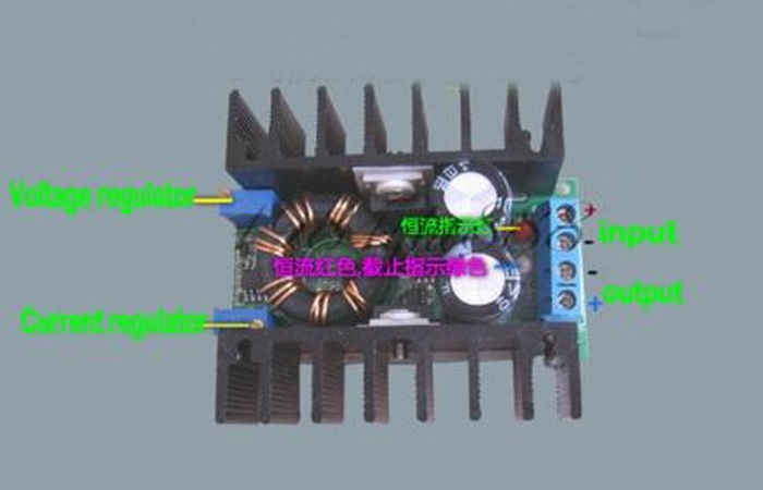 DC-DC 100W Constant Current Boost Step-up Module Mobile Power Supply LED Driver Free 5pic/lot shipping(China (Mainland))