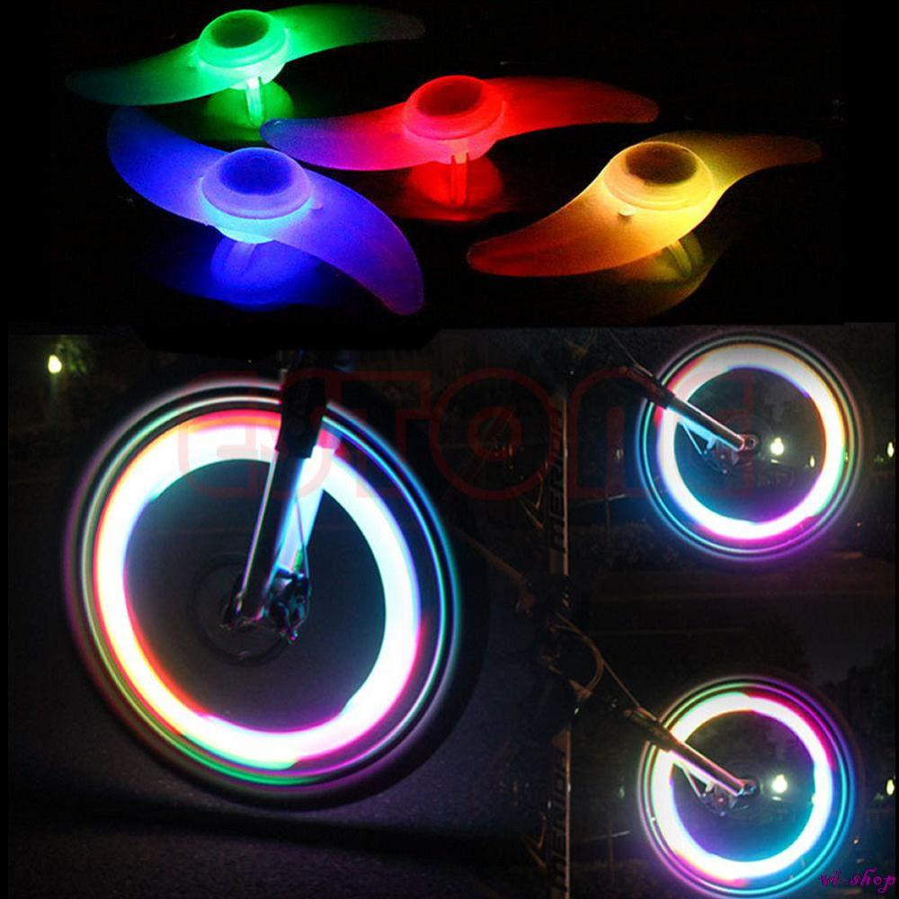 Hot Sale 2014 Cycling Motorcycle Bicycle Bike Wheel Spoke LED Light Lamp Safe Ride 4 Color Free Shipping(China (Mainland))