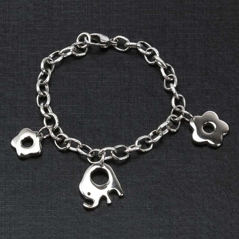 Stainless Steel Animal Bracelet , lovely Elephant Bracelet For Women(China (Mainland))
