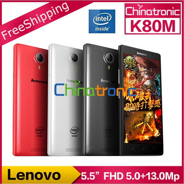 "Original Lenovo K8 K80M Prime Mobile Phone Intel Atom Z3560 Quad Core 4G FDD LTE 5.5""FHD 4G RAM 64G ROM NFC New Arrival IN STOCK(China (Mainland))"