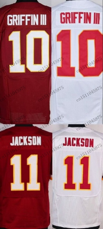 #11 DeSean Jackson Jersey #10 Robert Griffin III elite stitched logo ,American football Jersey(China (Mainland))