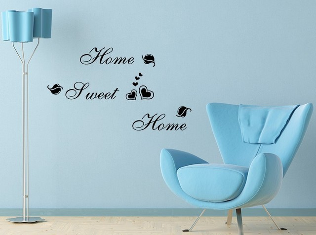Дом , милый дом декор творческая на стены 8164 декоративные adesivo де parede съемный виниловые наклейки
