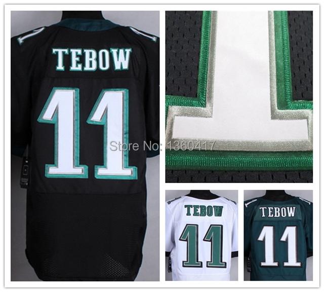 2015 New Philadelphia #11 Tim Tebow Jersey Cheap Sports Shirts Men's Elite jerseys 100% Stitched American Football Jersey(China (Mainland))